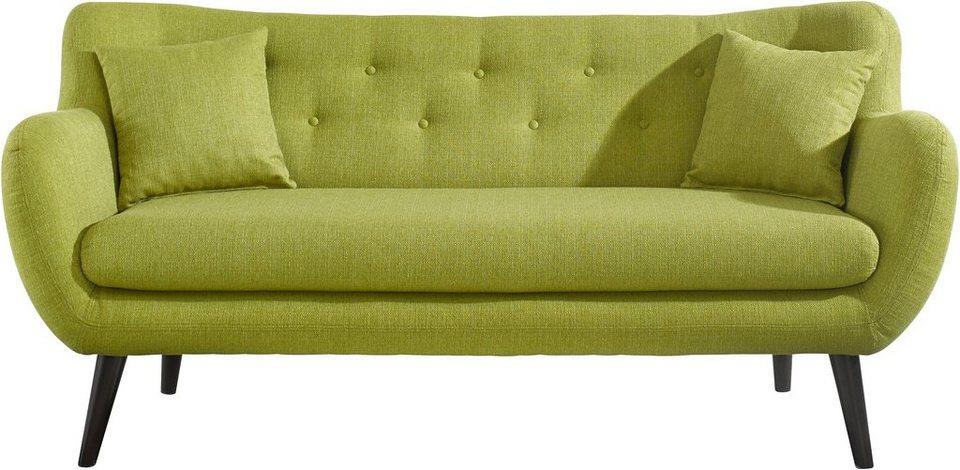 Retro Sofa in grün