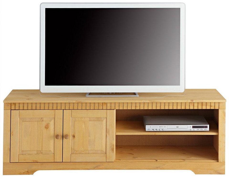Home affaire TV-Lowboard, Breite 150 cm in gelaugt/geölt