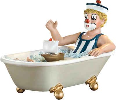 Gildeclowns Sammelfigur »Clown Dekofigur, Auf grosser Fahrt« (1 Stück), handbemalt, Wohnzimmer