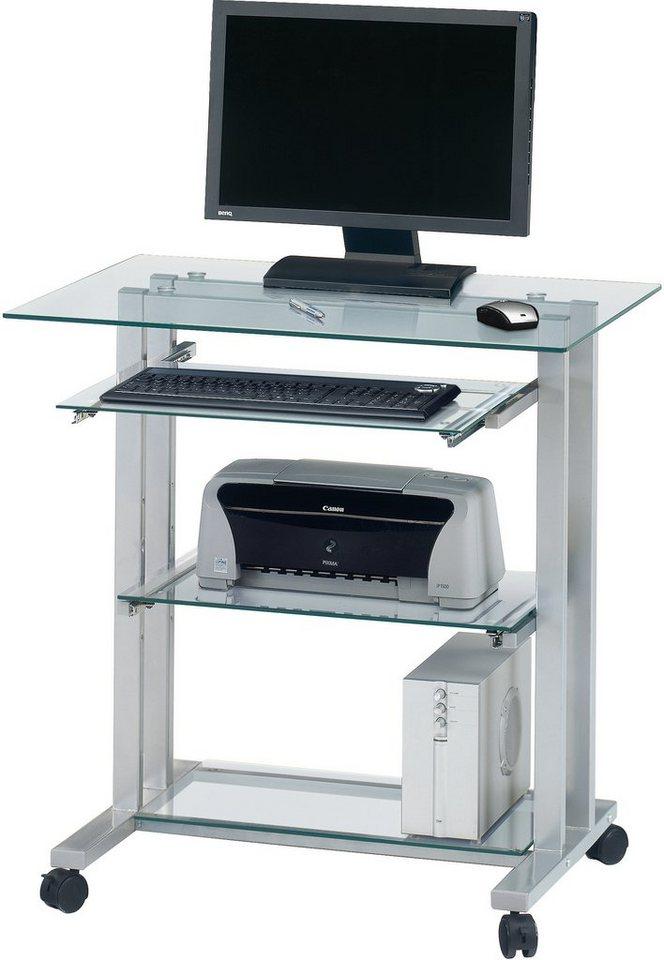 Computertisch glas  Cuuba By Jahnke Glastisch »PC-R 12« online kaufen | OTTO