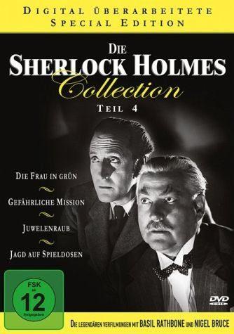 DVD »Die Sherlock Holmes Collection - Teil 4«