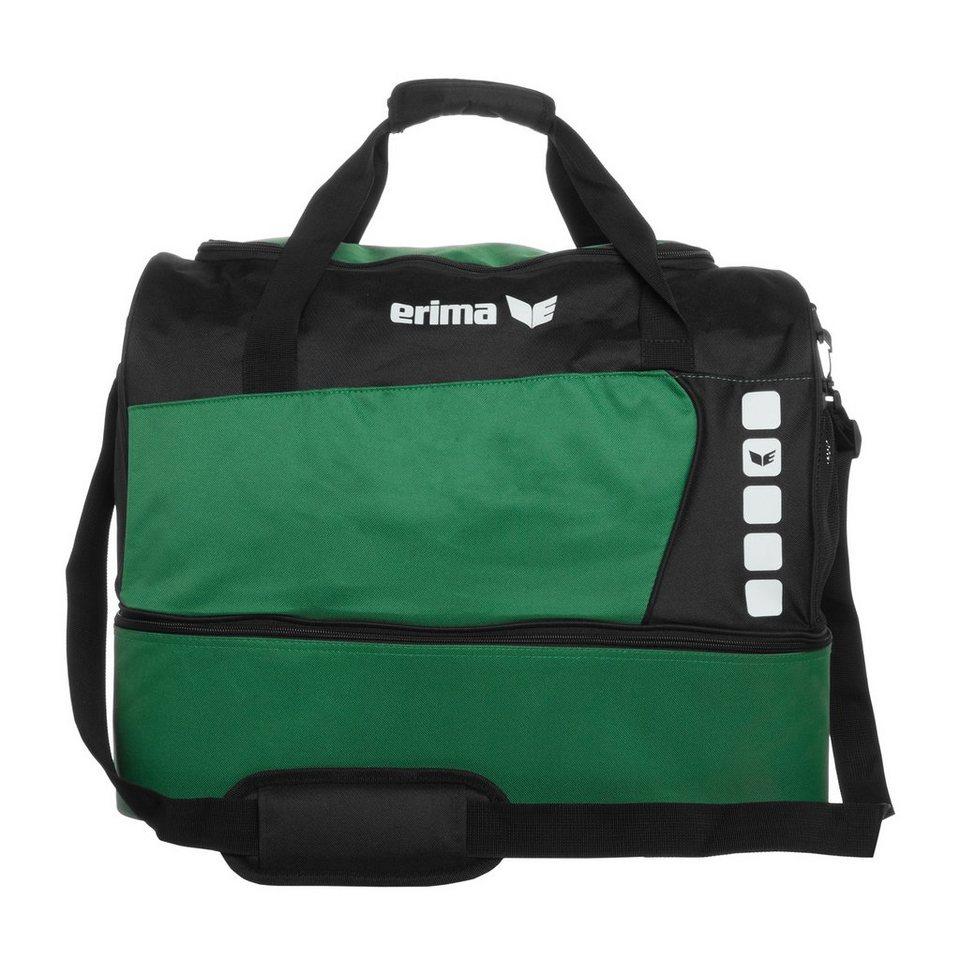ERIMA CLUB 5 Sporttasche mit Bodenfach L in smaragd/schwarz