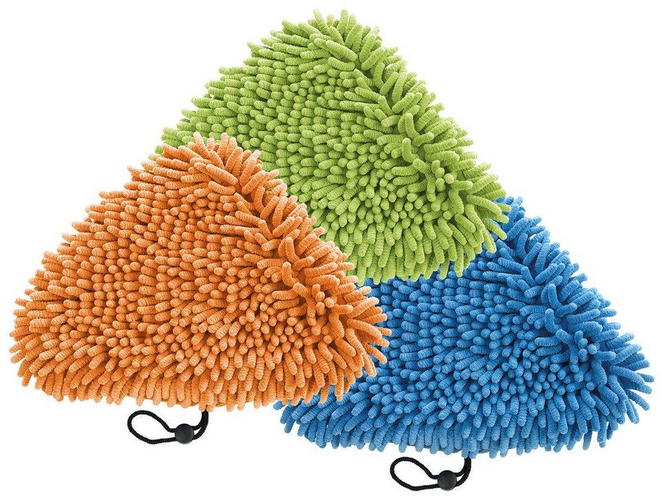 cleanmaxx Universal Korallentücher 3er-Set in Farb-Set