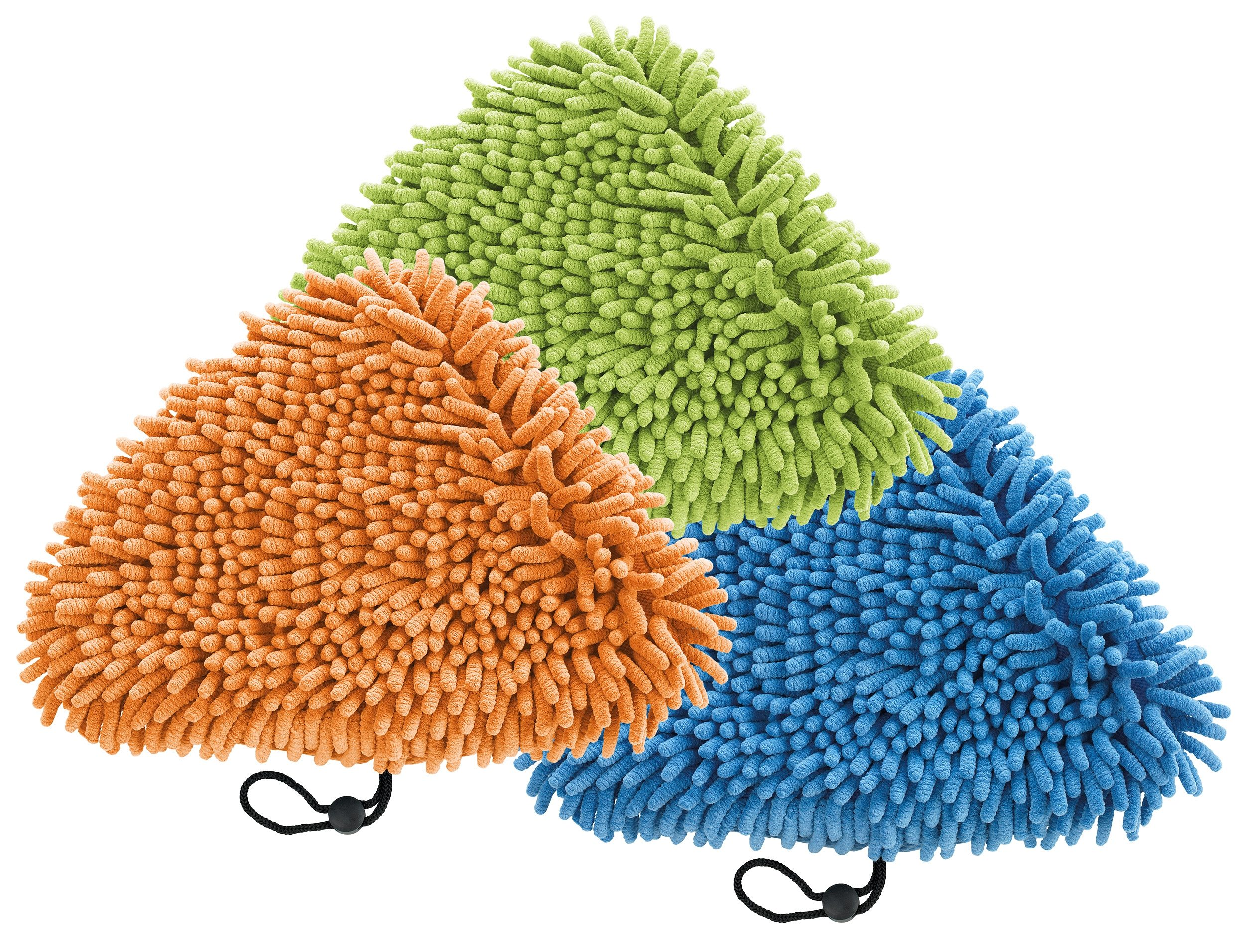 cleanmaxx Universal Korallentücher 3er-Set