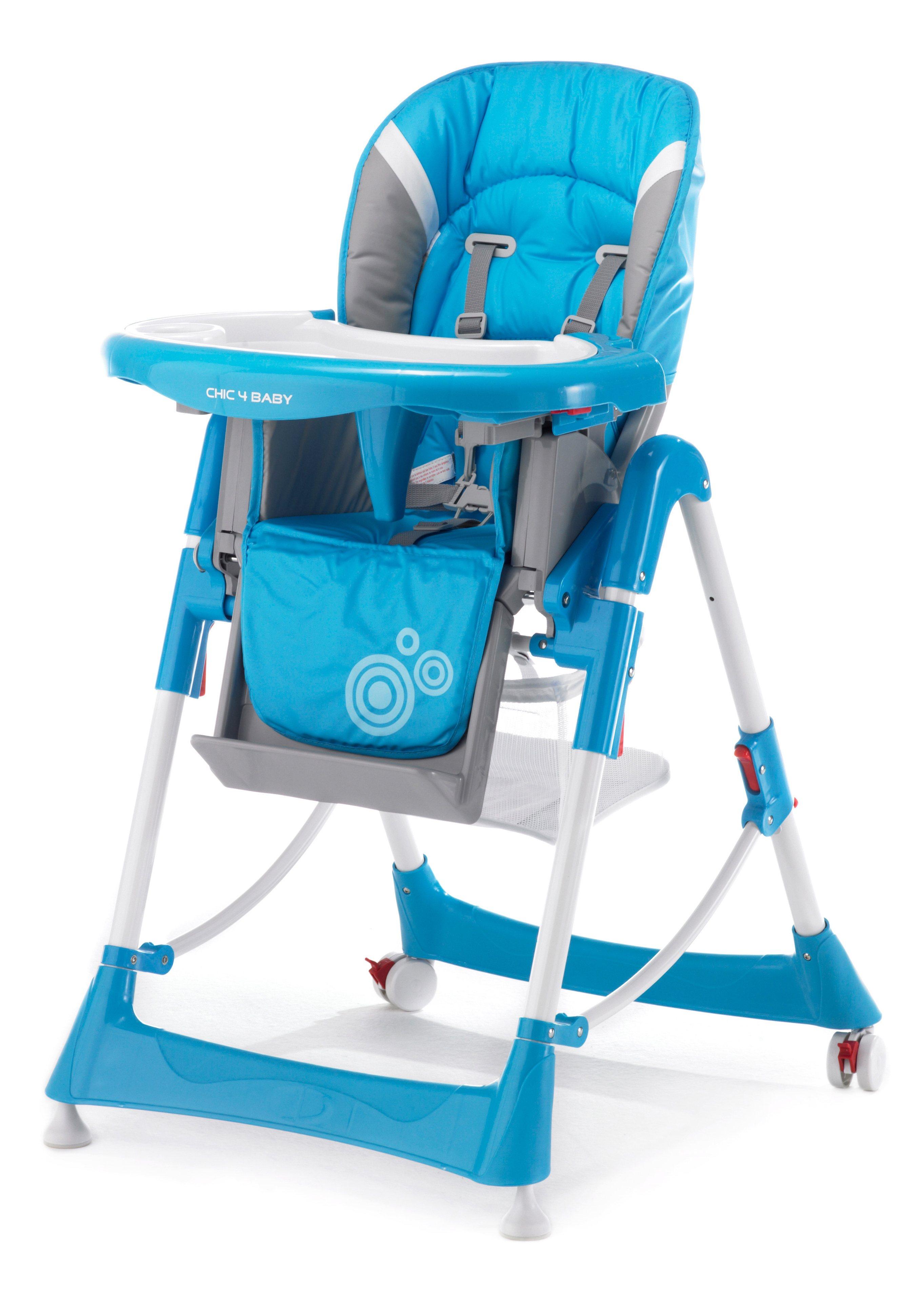 CHIC4BABY, Hochstuhl mit verstellbarer Sitzposition, türkis   Kinderzimmer > Kinderzimmerstühle > Hochstühle   CHIC4BABY