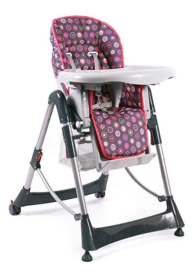 chic4baby hochstuhl mit verstellbarer sitzposition galaxy coral online kaufen otto. Black Bedroom Furniture Sets. Home Design Ideas