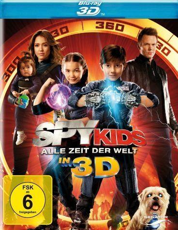 Blu-ray »Spy Kids - Alle Zeit der Welt (Blu-ray 3D)«