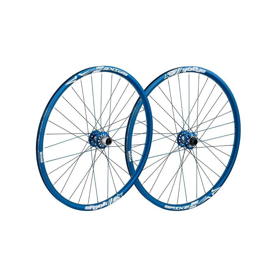 SPANK Laufrad »Spike Race28 EVO LRS 20mm + 12/135mm blue«