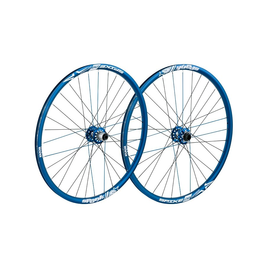 SPANK Laufrad »Spike Race28 EVO LRS 20mm + 12/135mm blue«