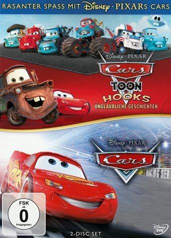 DVD »Doppelpack Cars Teil 1 / Hooks unglaubliche...«