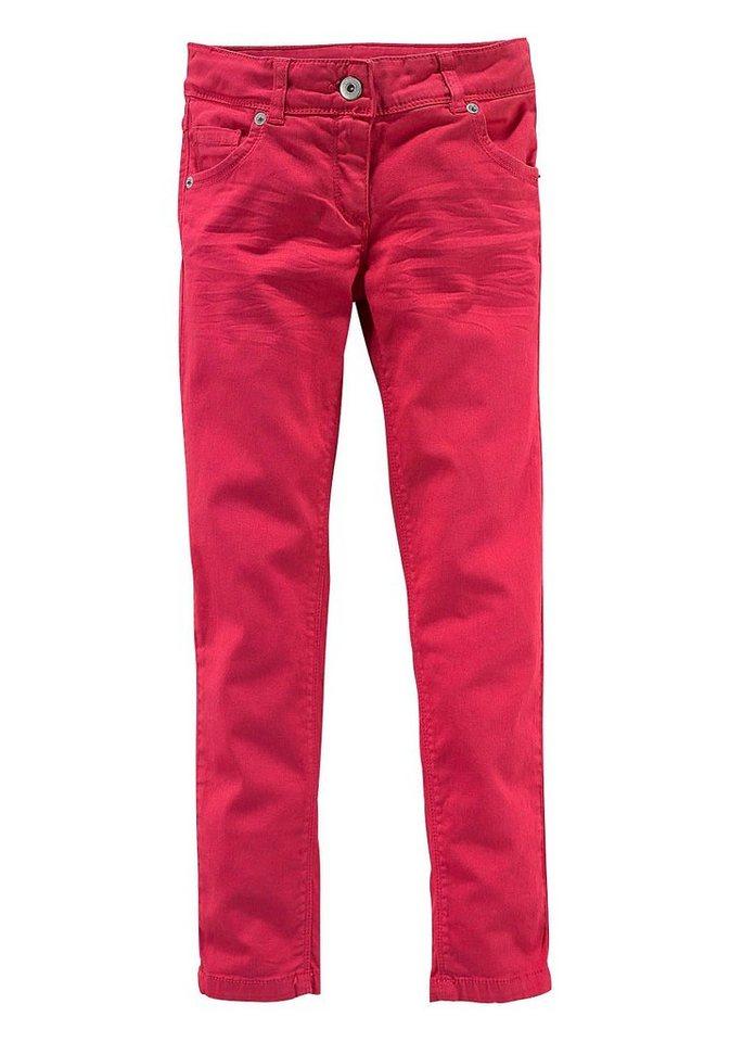 Arizona Hose für Mädchen, Skinny in Rot