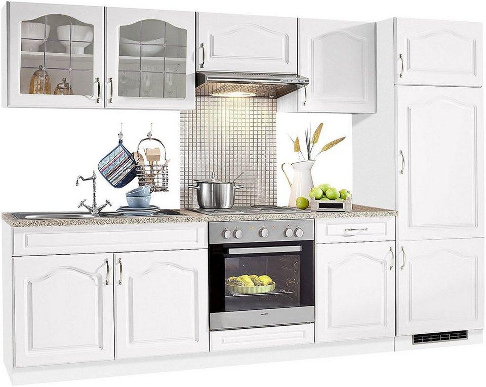 wiho Küchen Küchenzeile »Linz«, ohne E-Geräte, Breite 270 cm online kaufen  | OTTO
