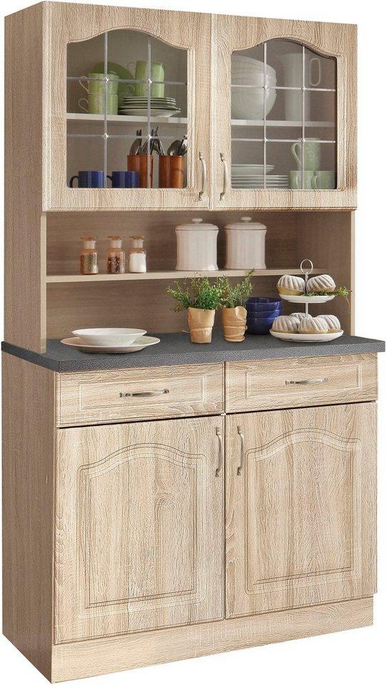 k chenbuffet linz 100 cm breit online kaufen otto. Black Bedroom Furniture Sets. Home Design Ideas