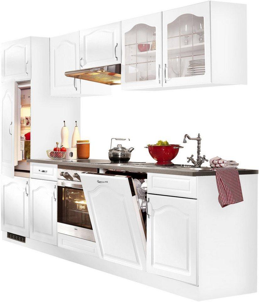 wiho k chen k chenzeile linz mit e ger ten breite 280. Black Bedroom Furniture Sets. Home Design Ideas