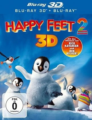 Blu-ray »Happy Feet 2 3D«