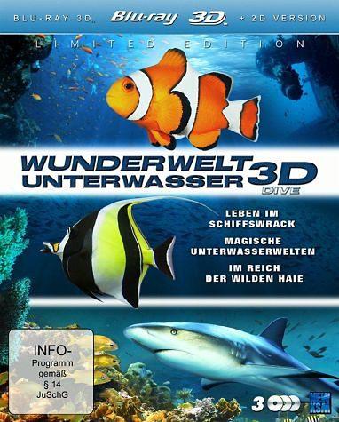 Blu-ray »Wunderwelt Unterwasser - Dive (Blu-ray 3D,...«