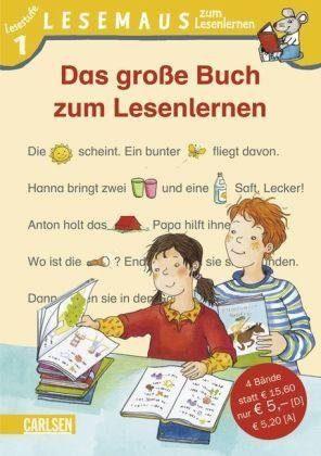 Carlsen Verlag Lesemaus 1: Das große Buch zum Lesenlernen, Sammelband