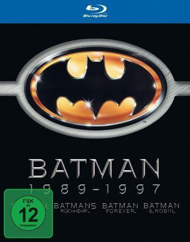 Blu-ray »Batman 1989-1997 (4 Discs)«