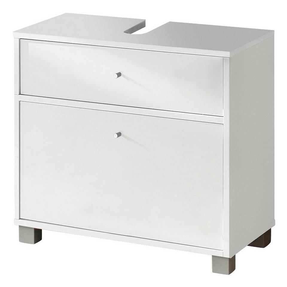 Waschbeckenunterschrank, Schildmeyer, »Elba« in weiß