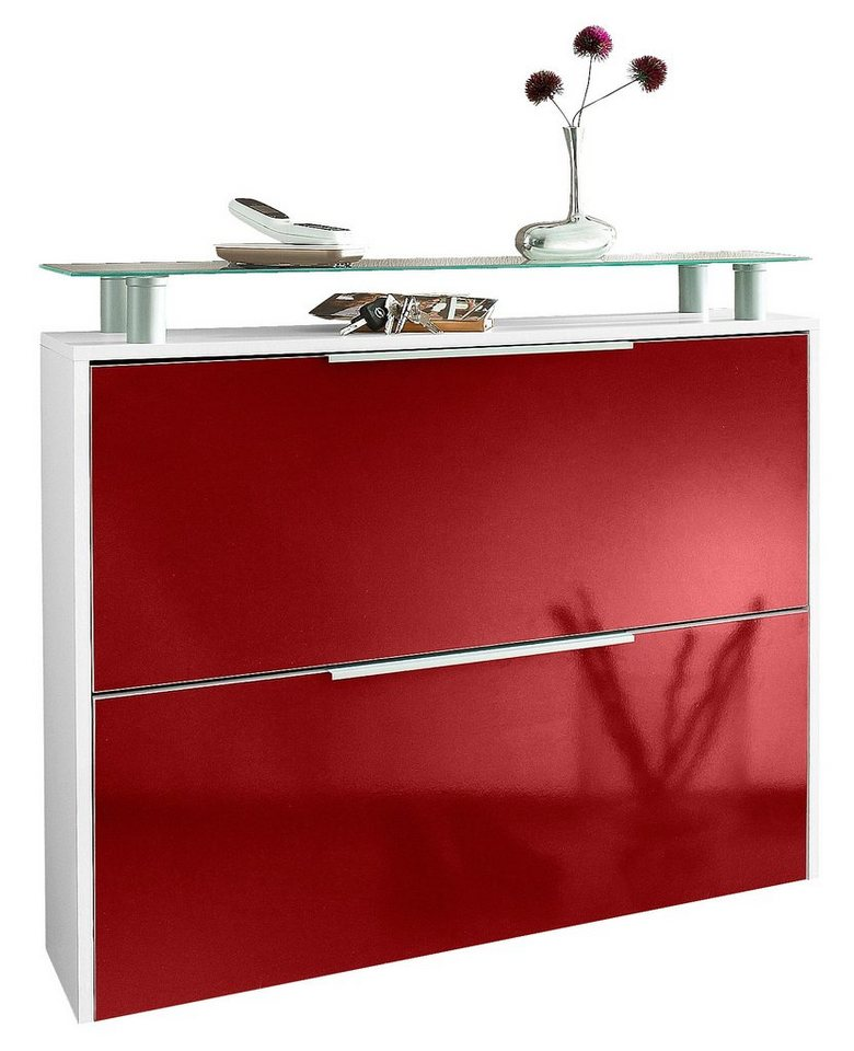 schuhschrank rot smartpersoneelsdossier. Black Bedroom Furniture Sets. Home Design Ideas