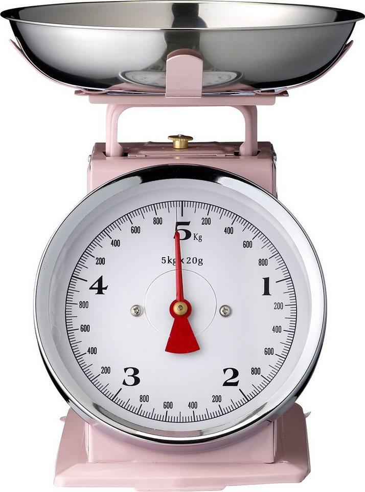 Küchenwaage, Bloomingville in rosa/weiß