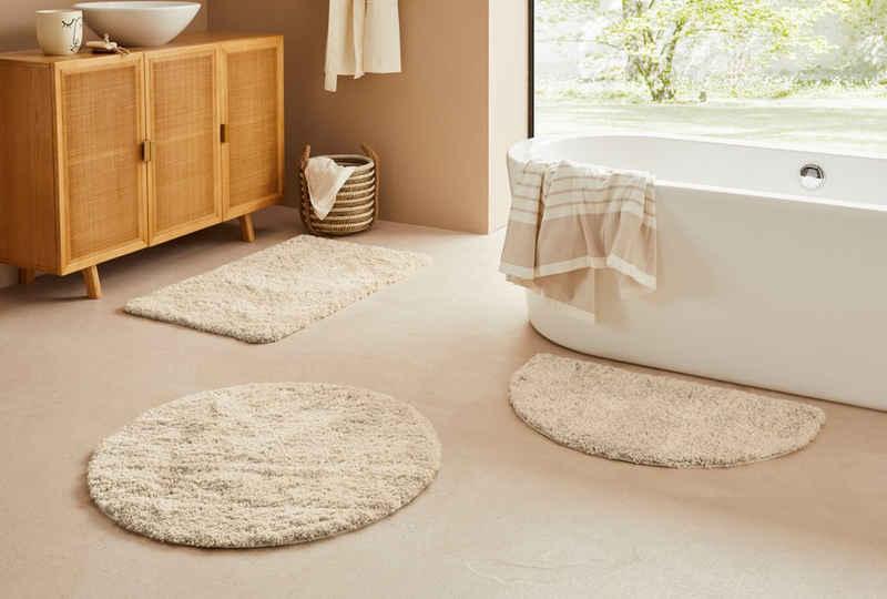Badematte »Narami« LeGer Home by Lena Gercke, Höhe 30 mm, rutschhemmend beschichtet, fußbodenheizungsgeeignet, Besonders weich durch Microfaser