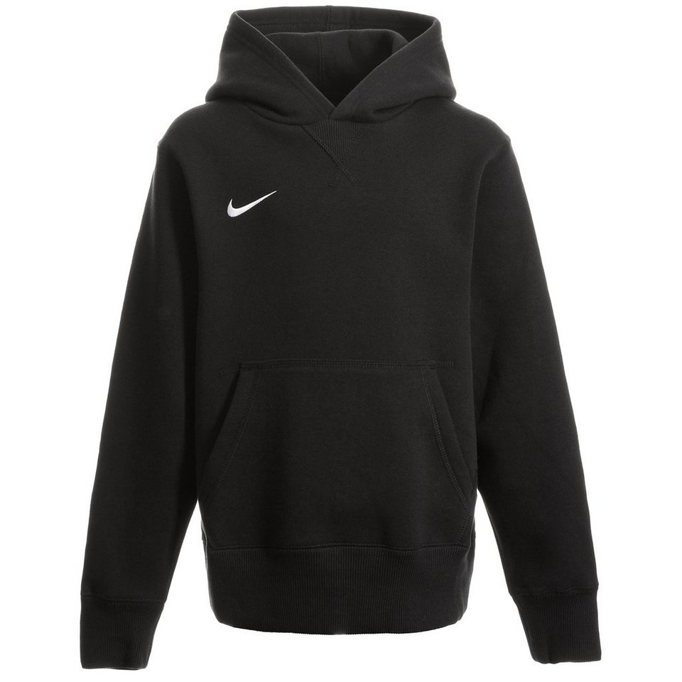 NIKE Core Fleece Kapuzenpullover Kinder in schwarz