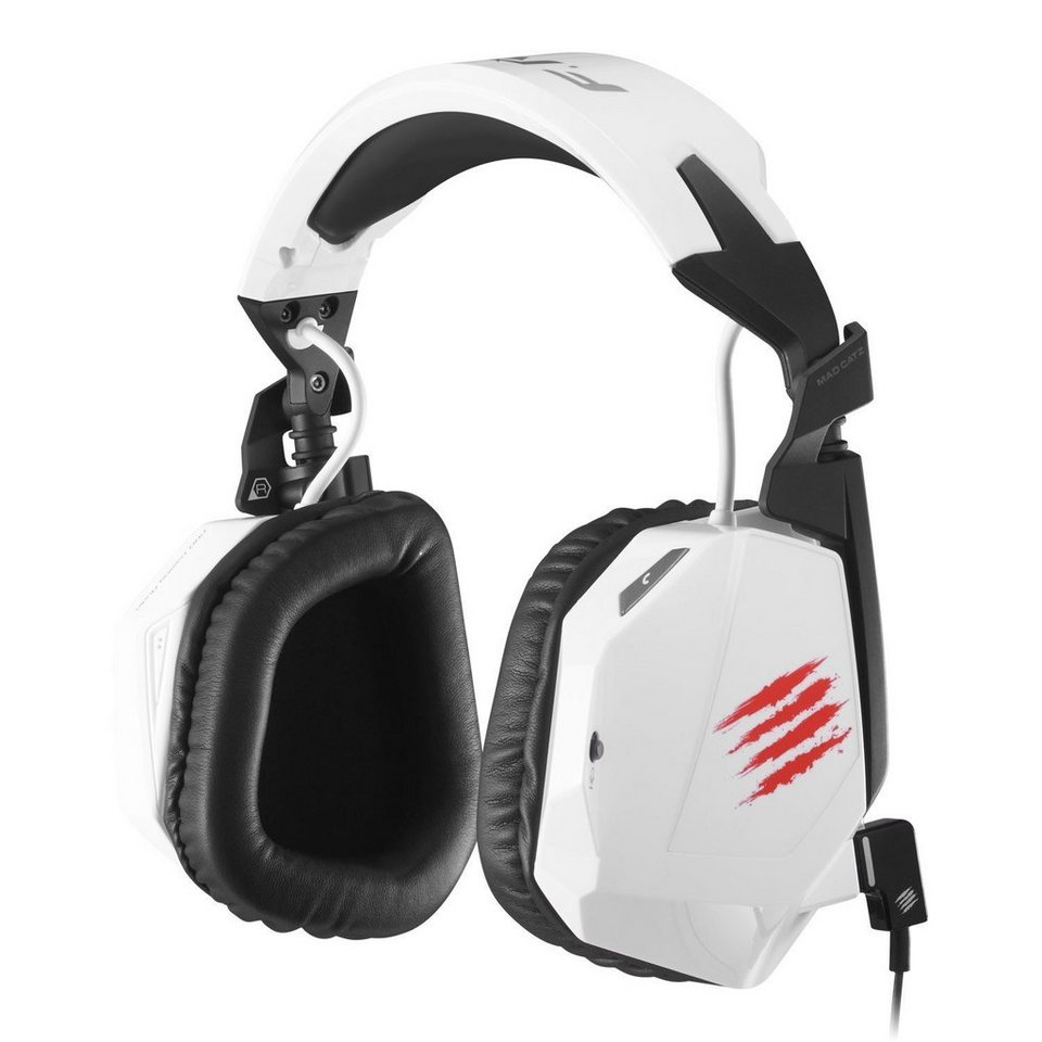 Mad Catz Headset F.R.E.Q.3 Weiss »(PC Tablet/Smartphone)«