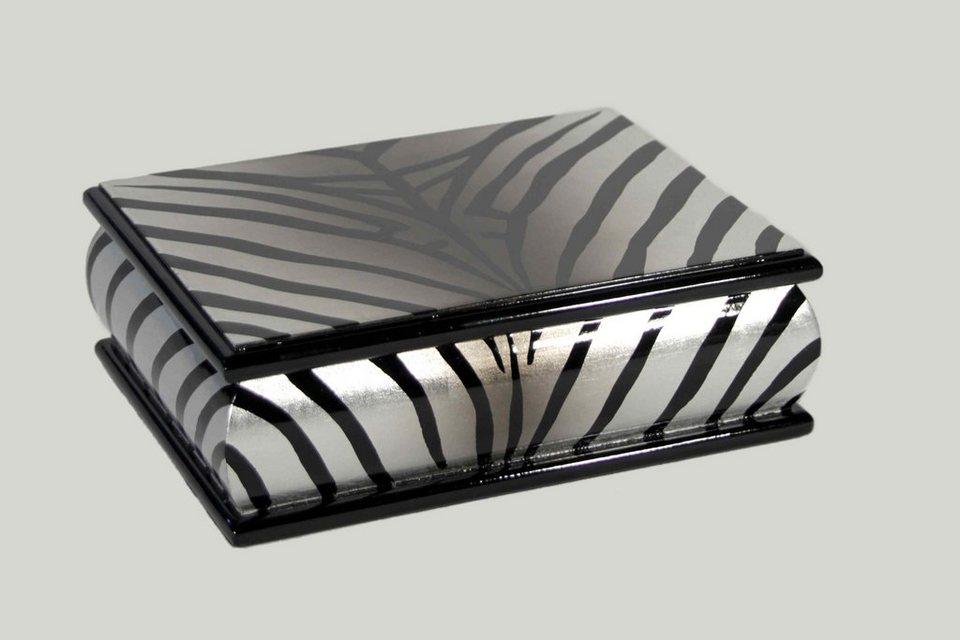 Schmuckbox, Home affaire, »Zebra« in schwarz-weiß
