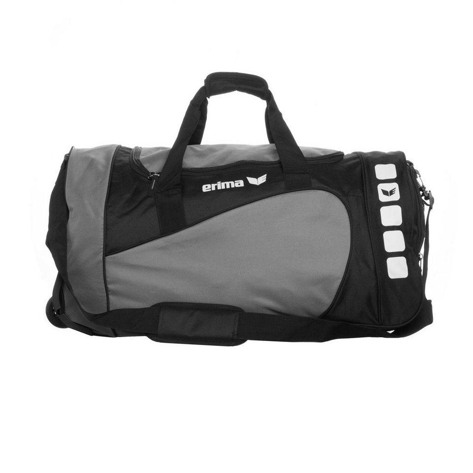 ERIMA CLUB 5 Rollentasche ohne Bodenfach XL in granit/schwarz