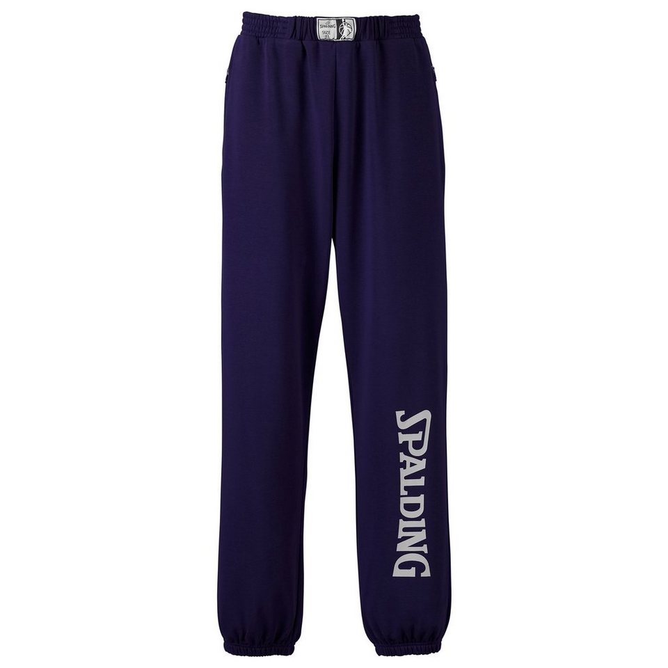 SPALDING Team Long Pants Kinder in marine/silbergrau