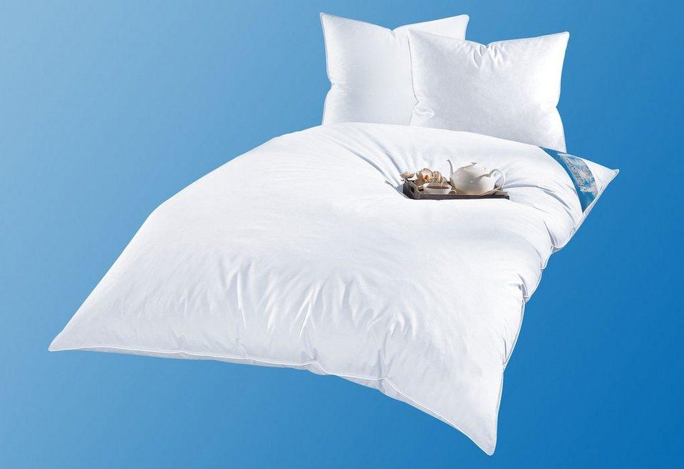 4 tlg set ballonbetten kopfkissen ribeco leon extrawarm verschiedene qualit ten online. Black Bedroom Furniture Sets. Home Design Ideas