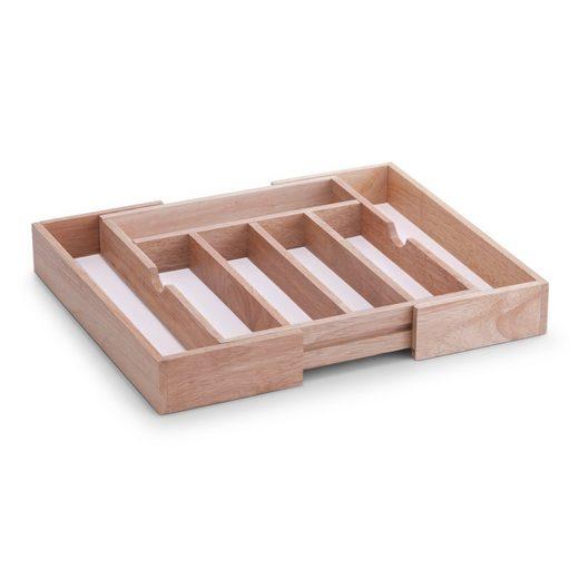 Neuetischkultur Besteckkasten »Besteckkasten, ausziehbar Gummibaum, Melamin«, Besteckkasten