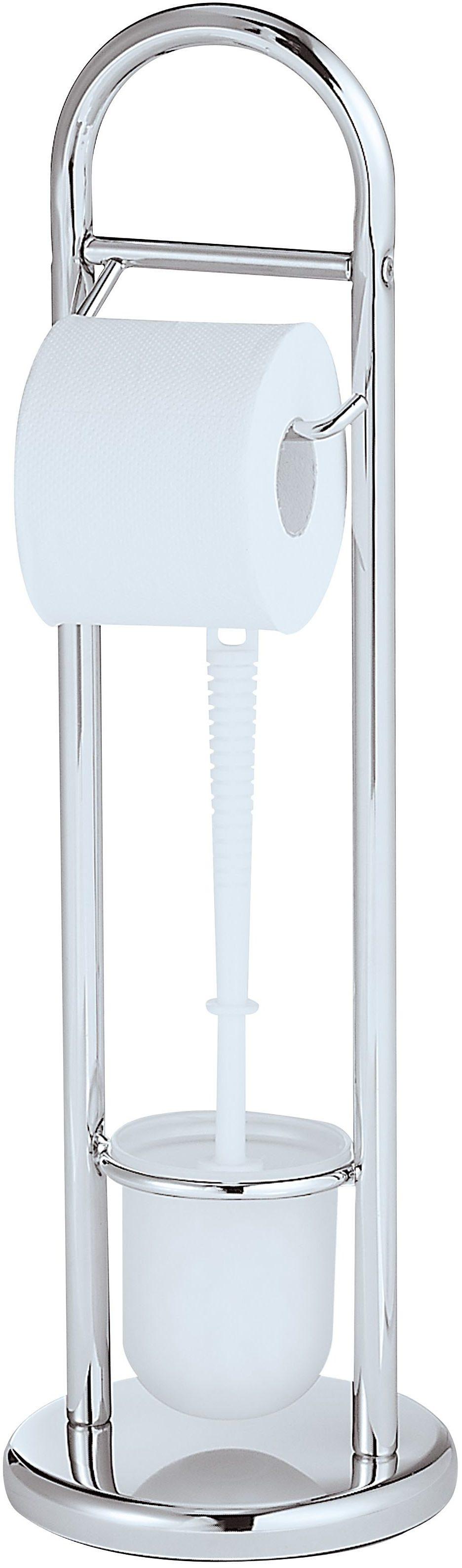 WENKO Stand WC-Garnitur Siena Chrom