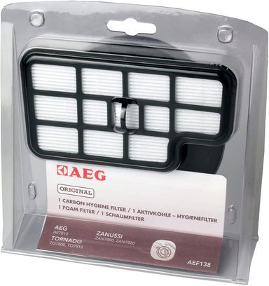 aeg filter set aef 138 f r aeg cyclon power kaufen otto. Black Bedroom Furniture Sets. Home Design Ideas