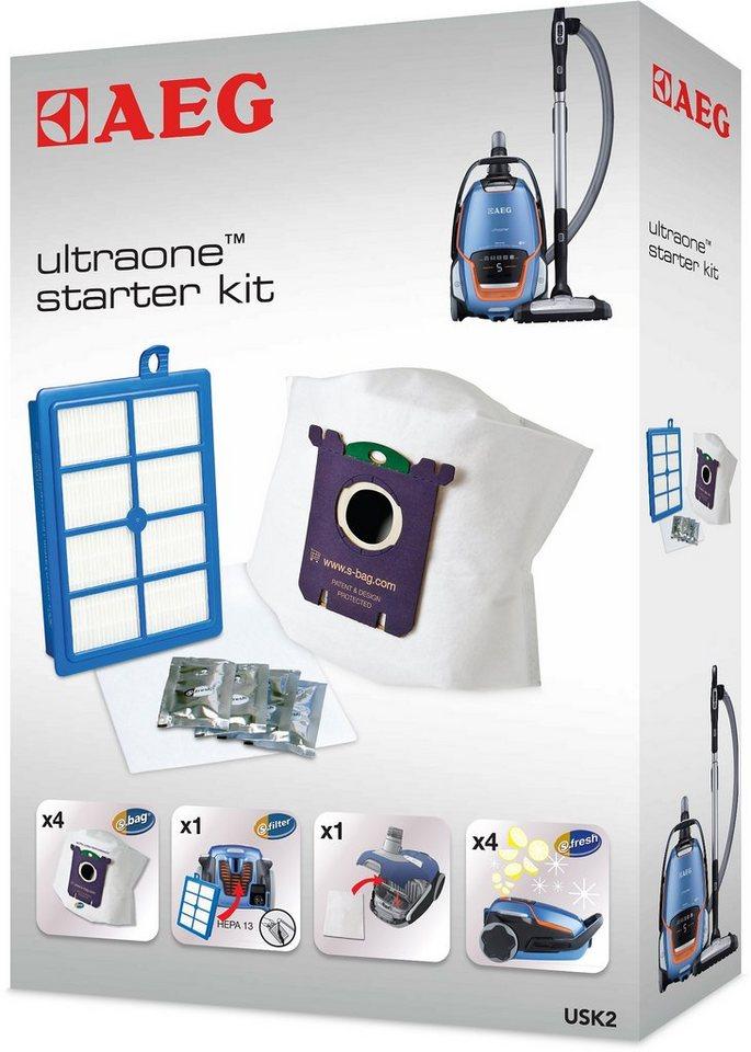 AEG Vorteil-Set UltraOne Starter-Kit USK 2, Filter-/Staubbeutel-Set für AEG UltraOne