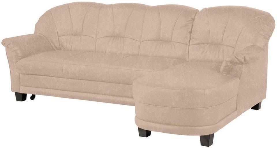 leder ecksofa eckcouch online kaufen otto. Black Bedroom Furniture Sets. Home Design Ideas