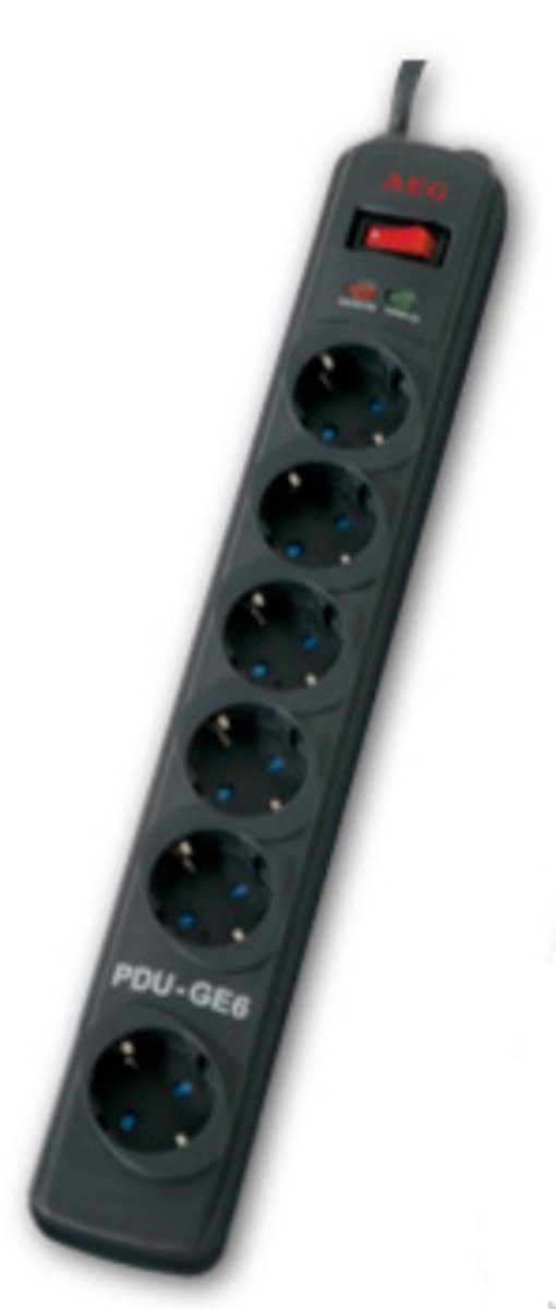 AEG Steckdosenleisten mit Überspannungsschutz »6-fach mit Überspannungsschutz«