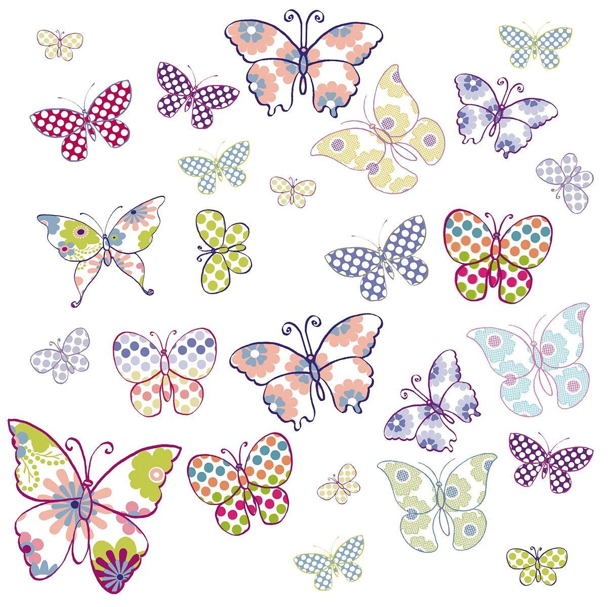 EUROGRAPHICS Fensterbilder »Butterflies«