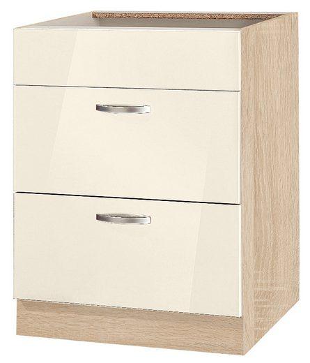 wiho Küchen Unterschrank »Flexi« Breite 60 cm