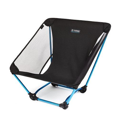 Helinox Campingstuhl »Ground Chair« in black/blue