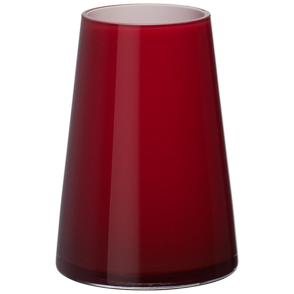 VILLEROY & BOCH Vase deep cherry 200mm »Numa« in Dekoriert