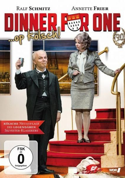 DVD »Dinner for One ... op kölsch!«