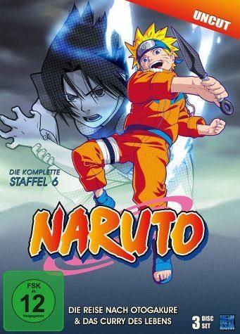 DVD »Naruto - Die Reise nach Otogakure & Das Curry...«