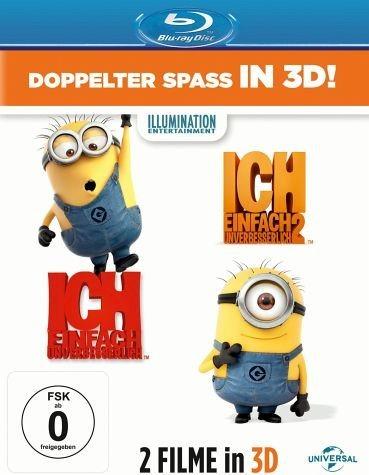 Blu-ray »Ich - Einfach unverbesserlich / Ich - Einfach...«
