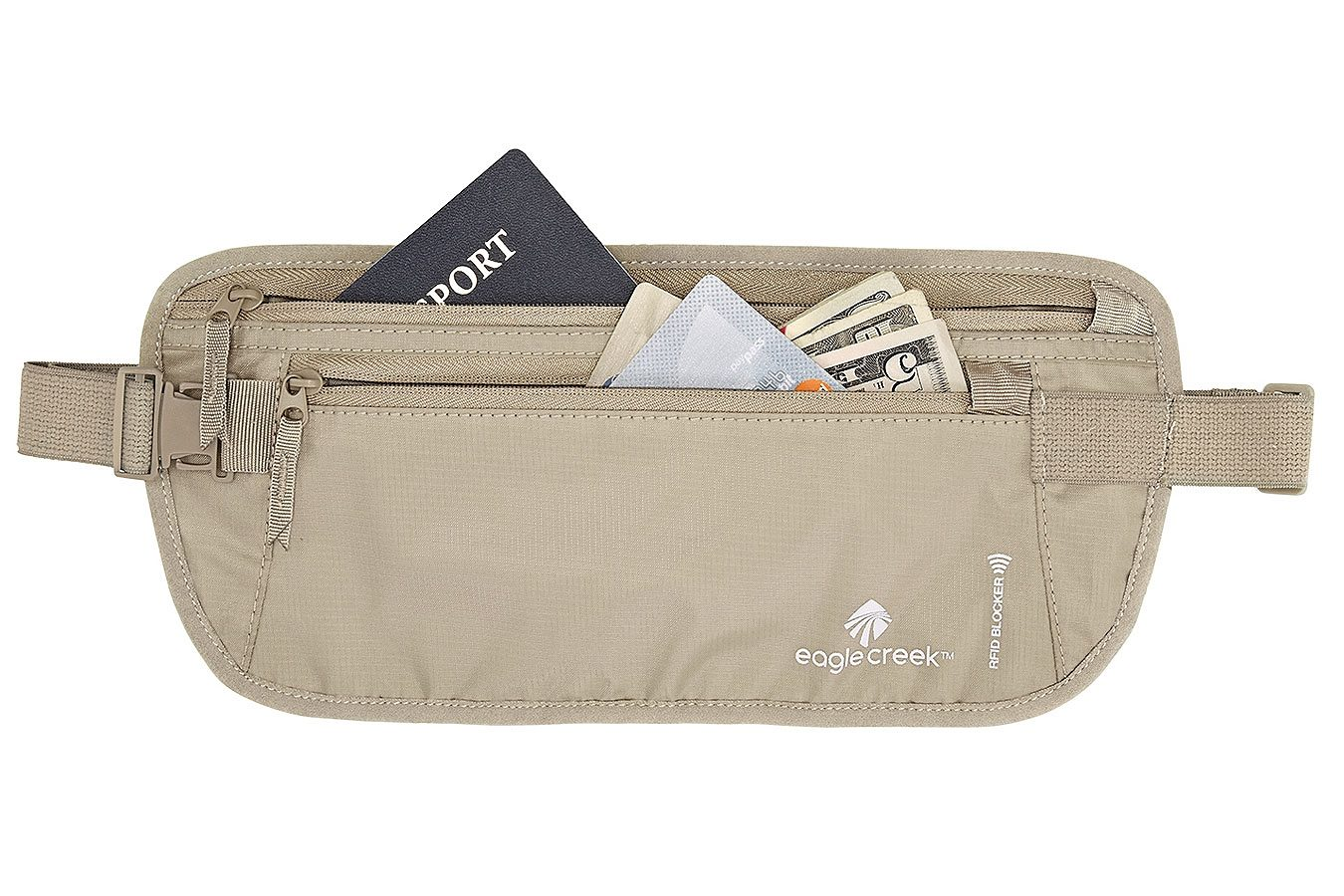 Eagle Creek Wertsachenaufbewahrung »RFID Blocker Money Belt DLX«