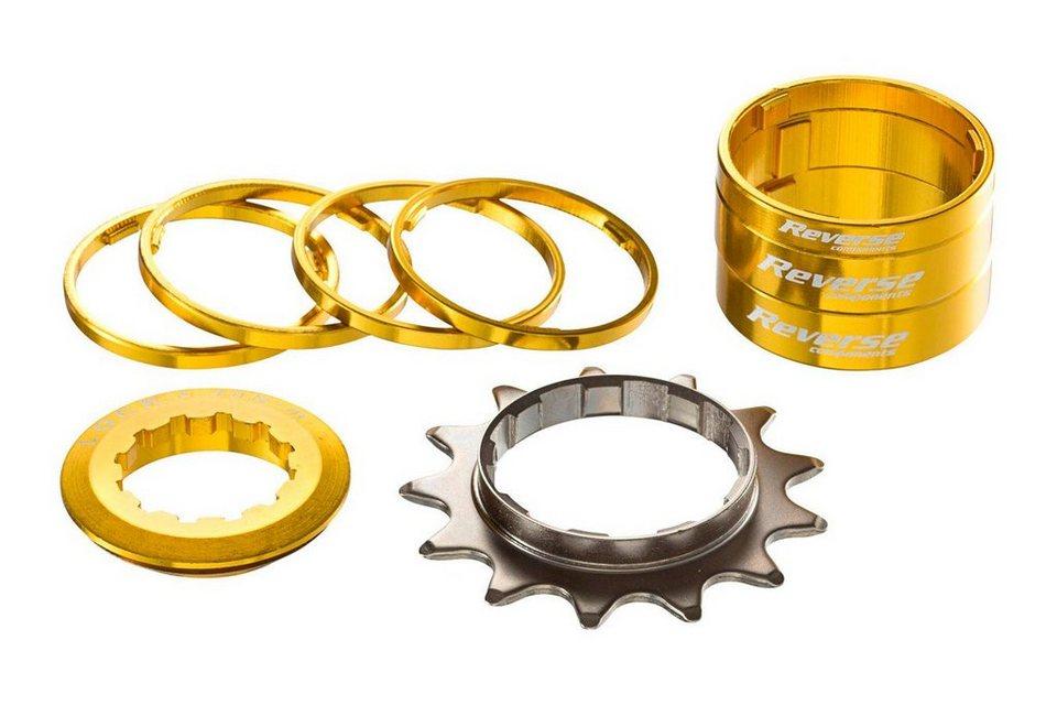 Reverse Fahrradkasetten »Single Speed Kit gold«
