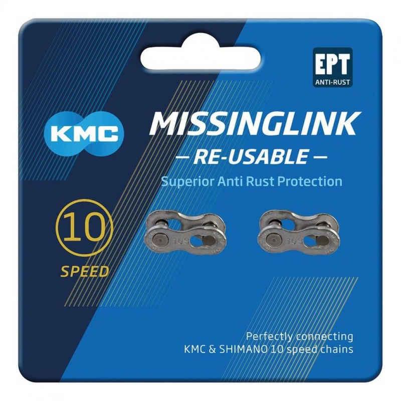 KMC Fahrradkette »KMC Missinglink 10R 10R EPT 2 Stück f. Ketten, 5,8«