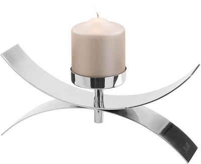 Fink Kerzenleuchter »DIVINA« (1 Stück), aus Edelstahl