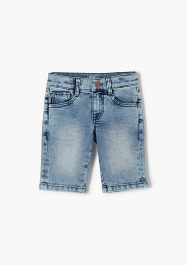s.Oliver Jeansshorts »Slim Fit: Jeans-Bermuda« Waschung